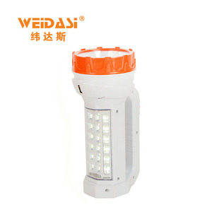 brightest rechargeable searchlight led handheld spotlight with side light