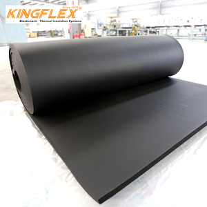 Wholesale heat insulation material for refrigeration system closed cell soundproofing thermal insulation foam rubber sheet