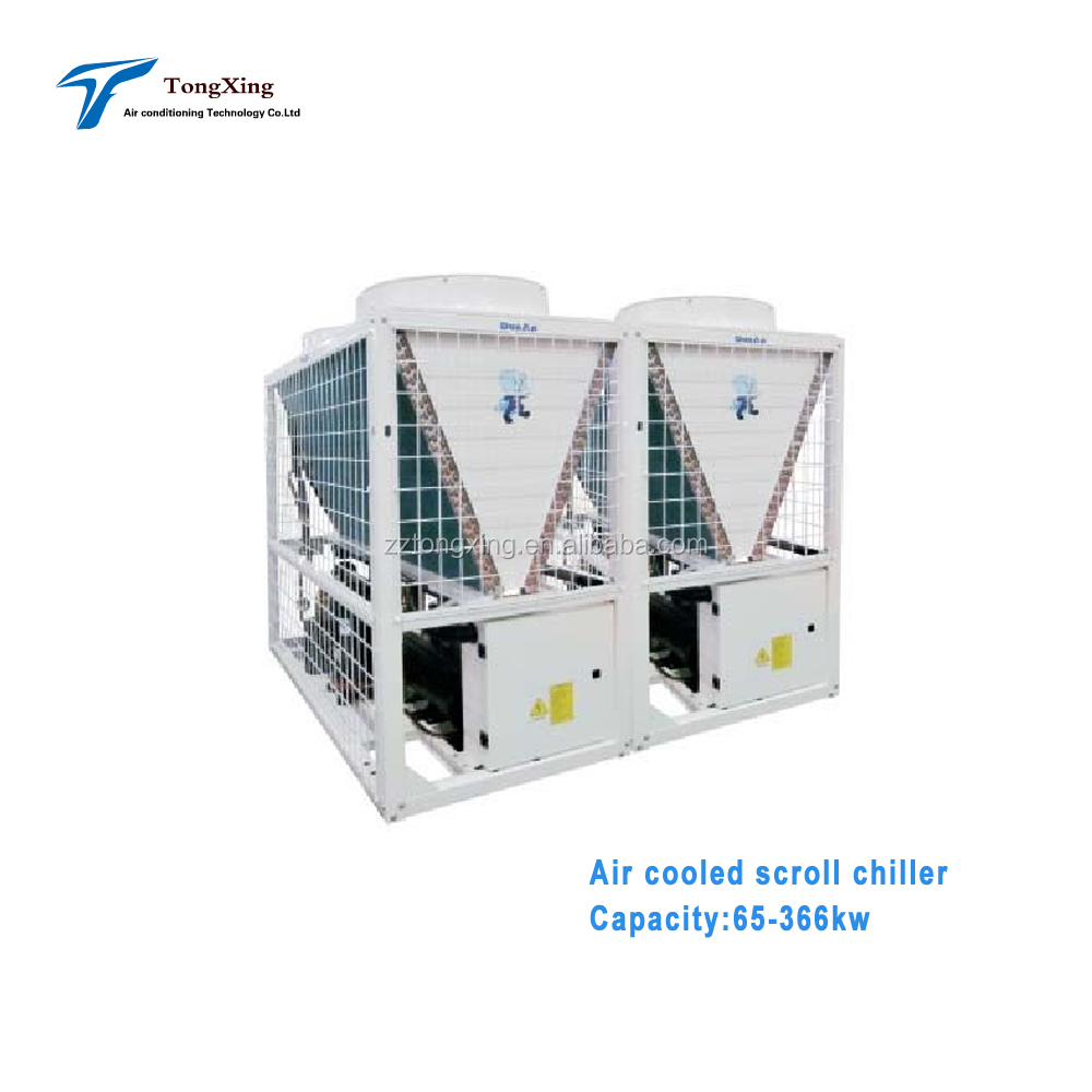 air cooled scroll chiller water & heat pump unit