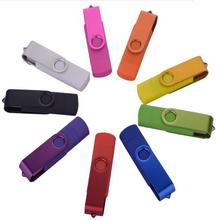 New Year promotion! Rotate colourful usb Can print logo  USB 2.0 usb Flash Drive pen drive memory stick  u disk S901