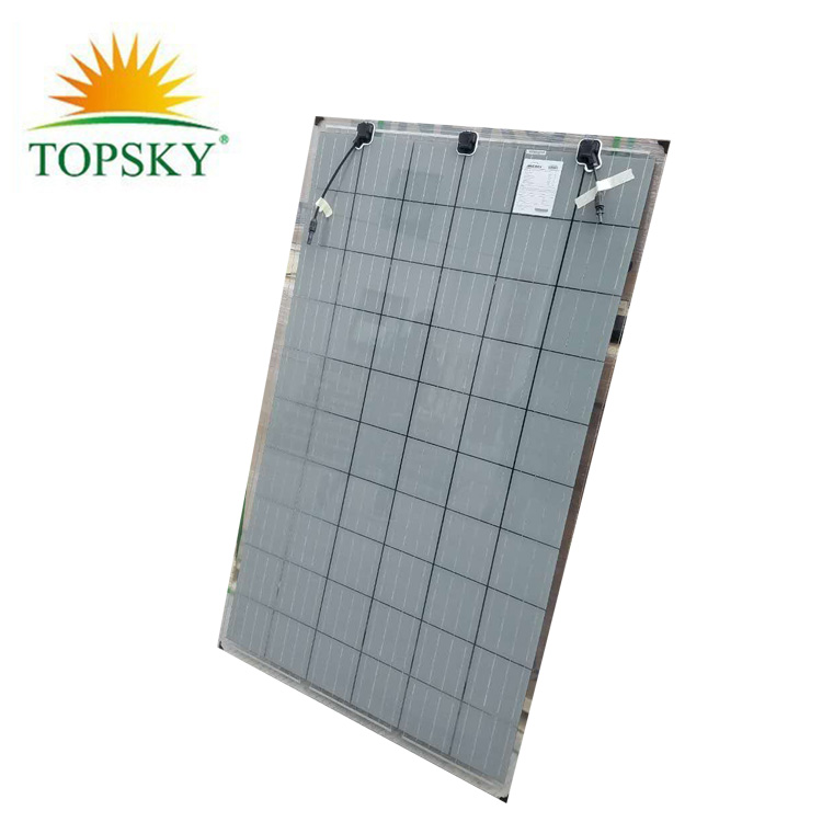 2018 Cheap Price CE/TUV Certificate 265W 270W 300w double glass solar panel in stock