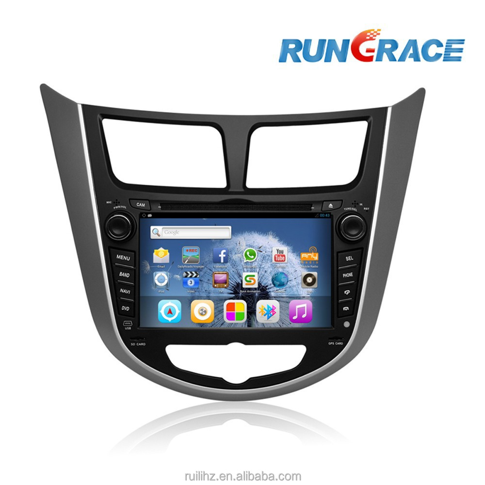Hyundai Verna 2 din android car dvd player