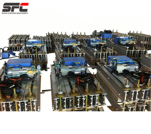 Steel cord conveyor belt vulcanizing joint curing press with water cooling system on sale