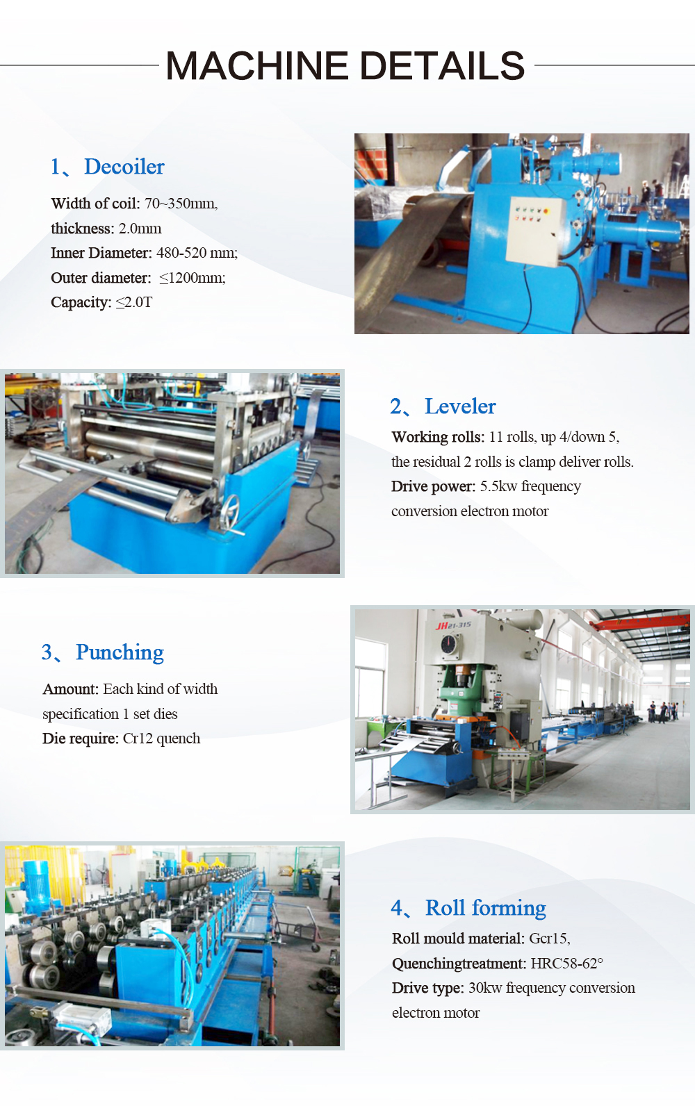 Automatic Galvanized Steel Cable Tray Cold Roll Forming Machine