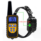 Rechargeable Waterproof Electric Remote Controlled Pet Training Shock Collar For Dog