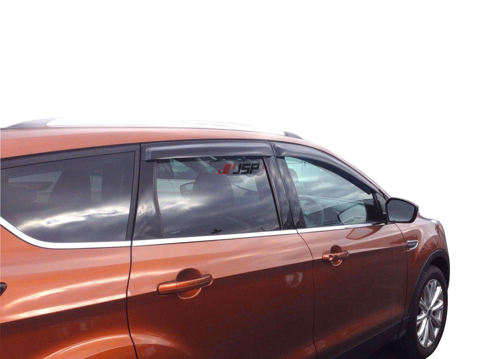 Get Quotations · JSP 218125 Ford Escape Side Window Deflector 2013-2017  Rain Guard Vent Visor