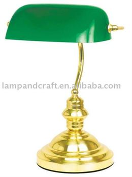 Best Selling Classical Antique Bank Desk Lamp Moq10pcs Accepted ...