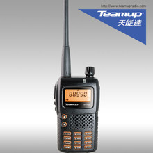 5 watts 128 canais vhf/uhf <span class=keywords><strong>fm</strong></span> transceptor handheld teamup rádio em dois sentidos walkie talkie T610