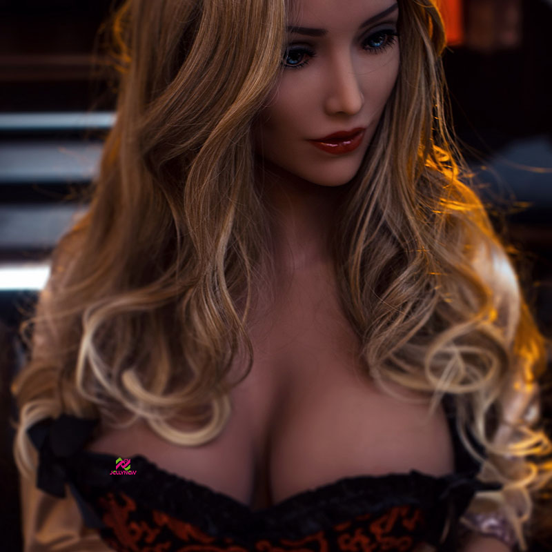 156cm Big breast Slim Waist Full TPE silicone sex doll vagina anus oral sex for adult