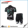 Customized your own design mens cycling jersey and shorts
