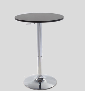 ABS party cocktail tables height fixed mini pub bar table