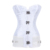 Best  New Style White Jacquard Ladies Underbust Corset Belt