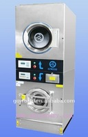 8kg steam heating laundry washer and dryer equipment