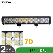 Wholesale 108W Amber Car Led Light Bar Offroad, 17inch Dot Approved 12 Volt 4x4 Led Light Bar Aluminium Heat Sink