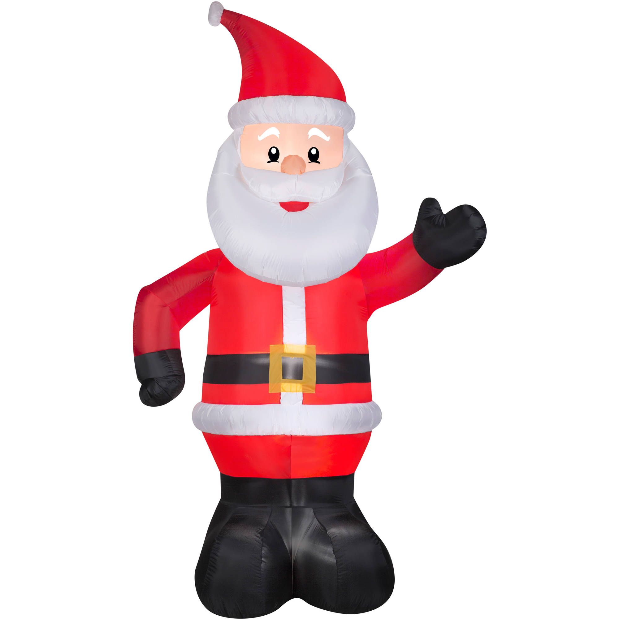 Christmas Ornaments Inflatable Santa With Train For Decorating - Buy ...