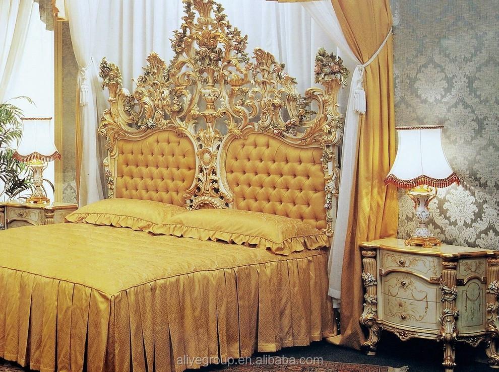 Mobili Di Lusso Italiani : Art2101 luxury italiani camera da letto mobili antico imperatore