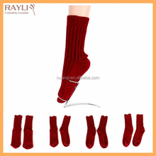 Women sexy red winter heated socks christmas stocking socks for gifts