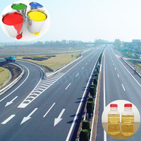 Low price liquid alkyd resin for road marking paint