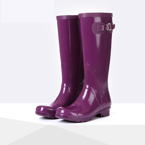 Colorful And Bright Ladies Womens Rain Boots Wholesale Sex Knee Boots NO MOQ