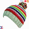 Walmart factory high quality fashion winter hat for young girls