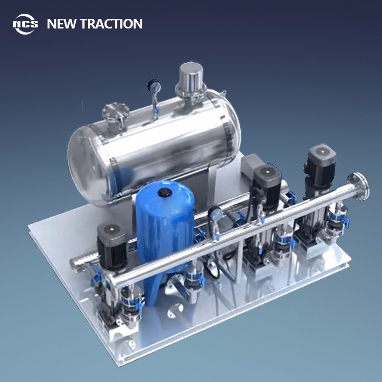 NCS Non negative pressure boosting and stabilized flow water supply equipment