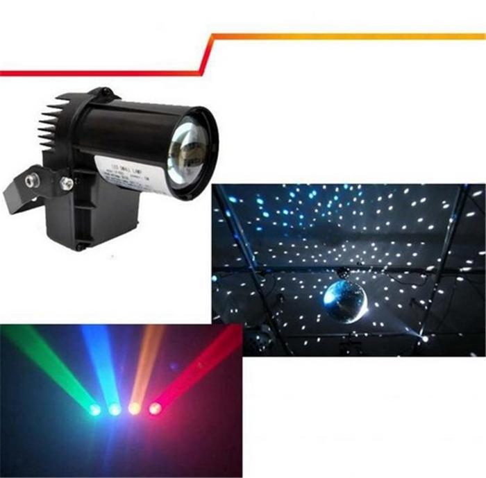 10W RGBW Cree lamp 4in1 LED Pinspot Light/DMX 512 control LED Rain stage light KTV DJ Club Party light Decor Lighting