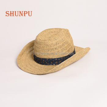 New Fashion Mexican Dyeing Paper Straw Cowboy Hat - Buy Paper ... 07215b08593