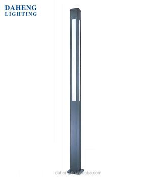 Attirant 3 4M Aluminum Modern Outdoor LED Garden Pole Light