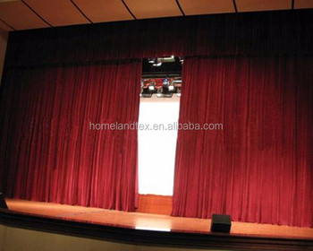 Hangzhou Home Textile Theater Curtains For Sale Made In China