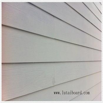 Wood Grain Calcium Silicate Exterior Wall Cladding,Dry-hanging Exterior  Wall Cladding,Painted With Emulsion 1200x2400/200x2400 - Buy Wood Grain  Fiber