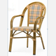 OTA-8007,Aluminum Bamboo Outdoor Coffee Chair
