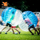 Human TPU Customized Inflatable Body Bubble Soccer , Adult Bumper Ball for Promotion