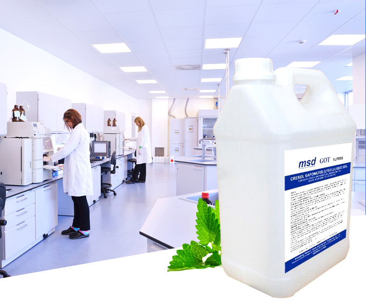 More effective non irritating saponated cresol solution antiseptic disinfectant