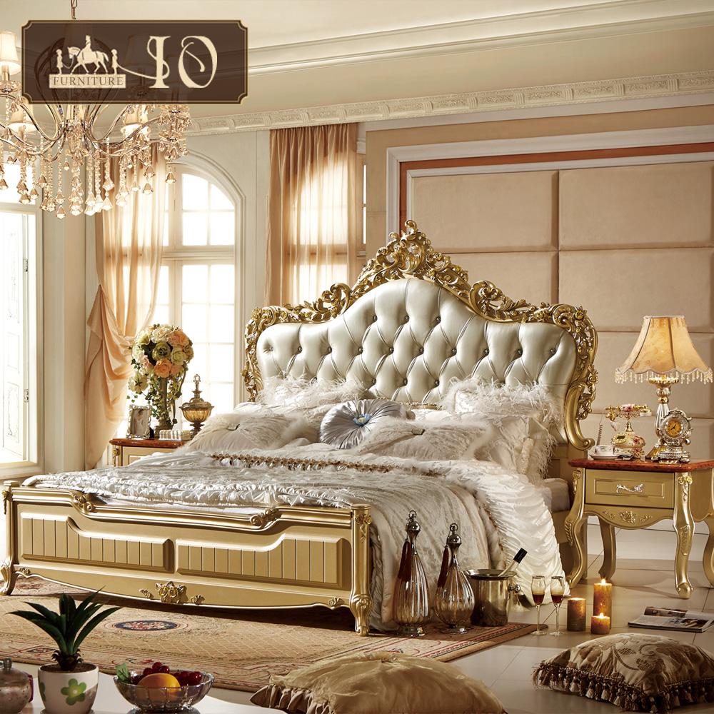 Fa122 lusso regale camera da letto ultime letto for Camera matrimoniale letto king size