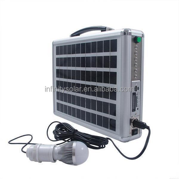 Guangzhou solar manufacturer unique portable solar generator system for dvd