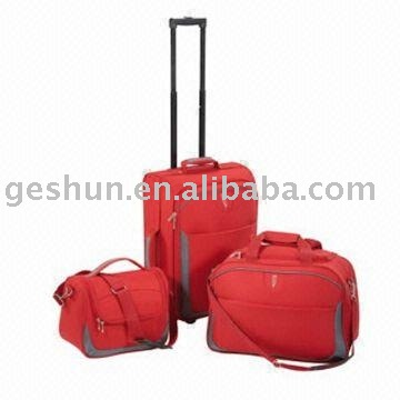 stock trolley luggage , closeout travel case , excess EVA luggage