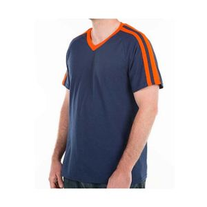 Wholesale custom High quality cheap blank striped t shirt men 2017