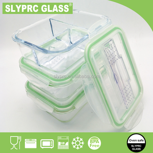 SLYPRC PP new style outstanding features bento lunch box with fork spoon knife / Glass food container BPA free microwave safe
