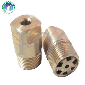 K Factor screw copper spray nozzle,