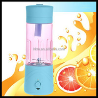 Rechargeable juicer with grinder and blender / battery operated blender mixer juicer
