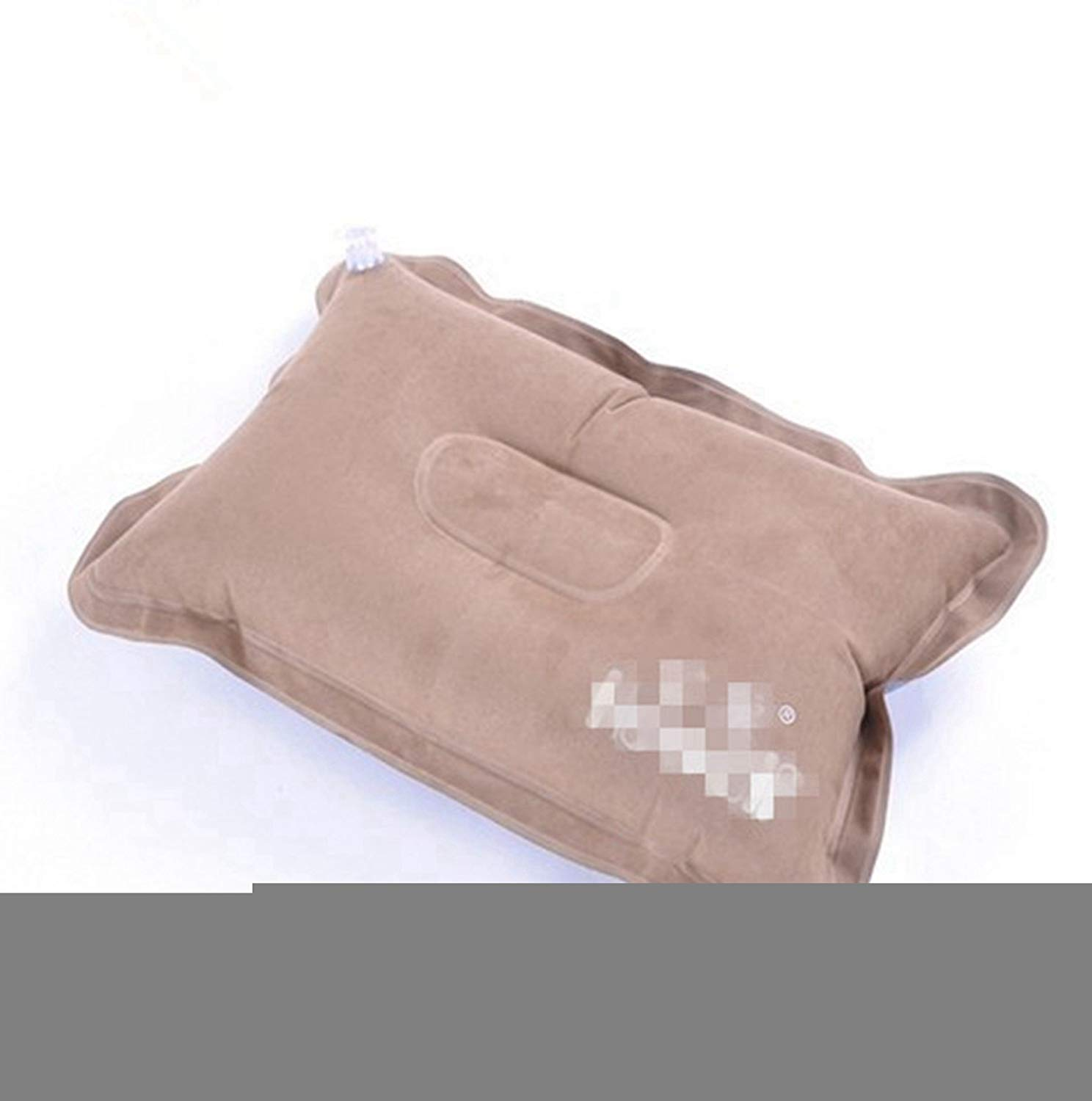 KINGDE outdoor camping back cushion faux suede air pillow#KZ90