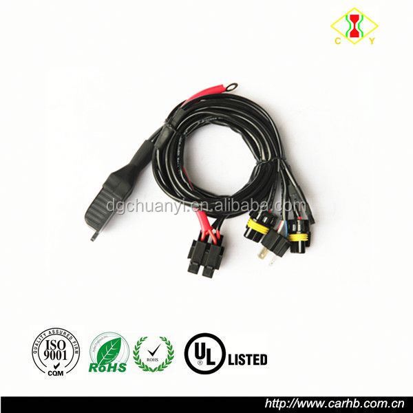 car automotive 12v 35w wiring harness controller 12v 35w wiring harness controller hid, 12v 35w wiring harness 12V DC Battery at gsmx.co