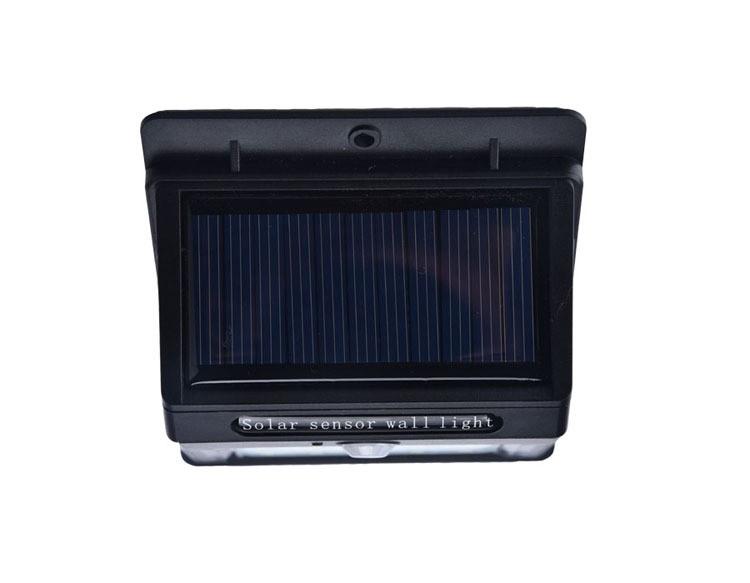 3.7v 900mah Abs Led Solar Motion Sensor Outdoor Wall Night Light ...