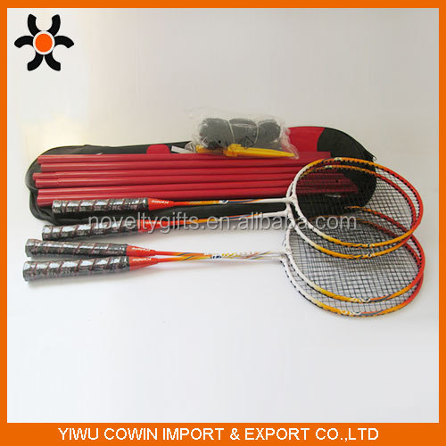 Hot selling badminton racket and badminton racket with nice badminton net