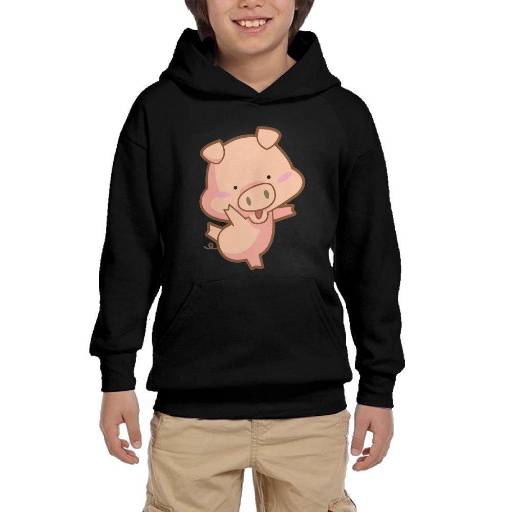 ada291524065 Get Quotations · Dancing PigYouth Unisex Hoodies Print Pullover  Sweatshirts