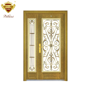 China top brand standard luxury stainless steel door grill design exterior JH802