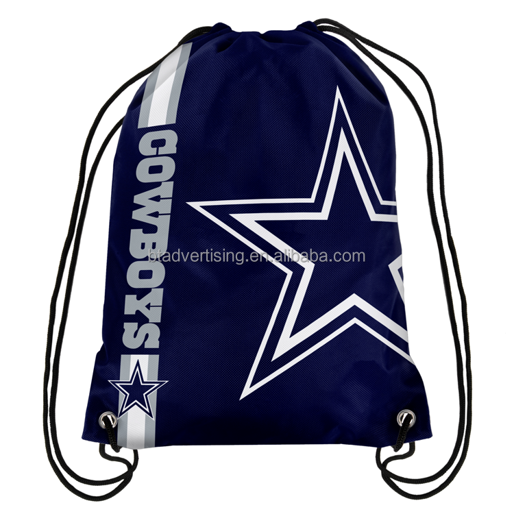 Dallas Cowboys Drawstring BackPack NFL Bags 35x45cm Sports Team