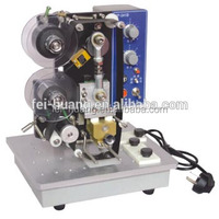Automatic expiry date printing machine, hot stamp coder