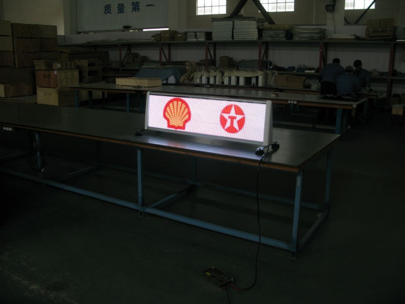 Taxi top led display truck/trailer auto moving led display