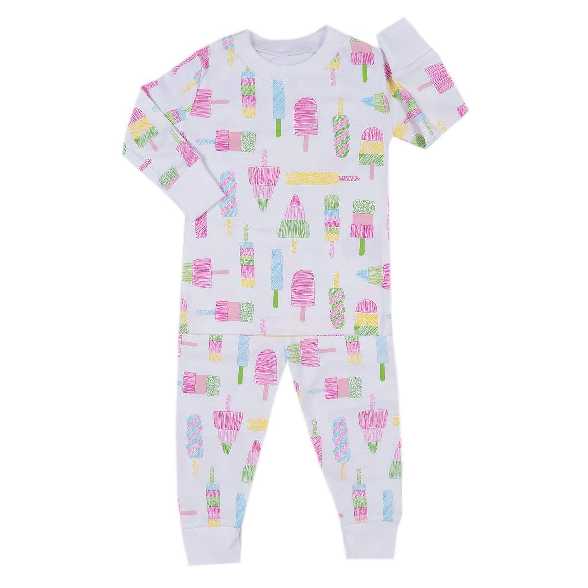 Get Quotations · Kissy Kissy Baby Girls Pajamas Spring 2018 Print Pajamas -  Popsicle 06c80e700